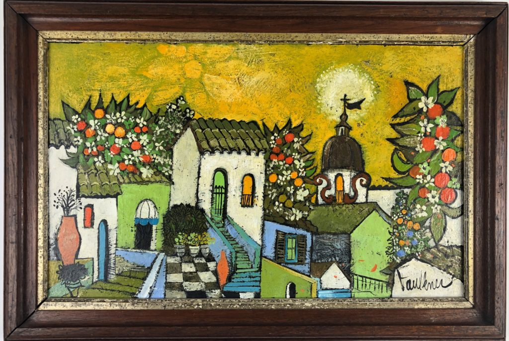 Henry Faulkner: Artist, Poet, Personality<br> <i>The Lifetime Collection of Lawrence Lewis, NY</i>