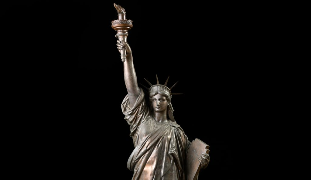 February 22nd Premier Auction: Featuring Long Lost Statue of Liberty | Estimate $20,000-40,000