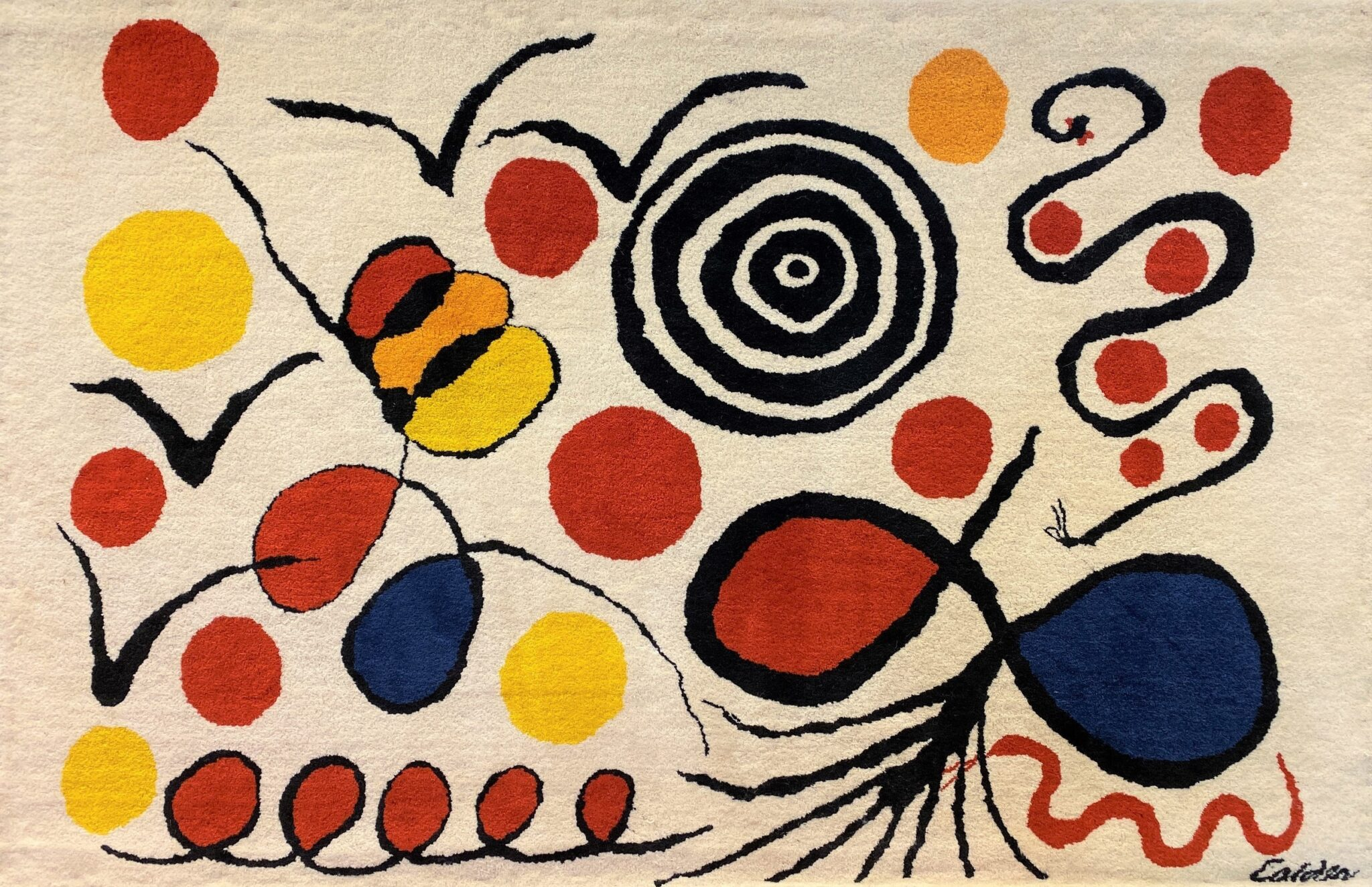 Large Carpet After Alexander Calder | Sold for $7,200