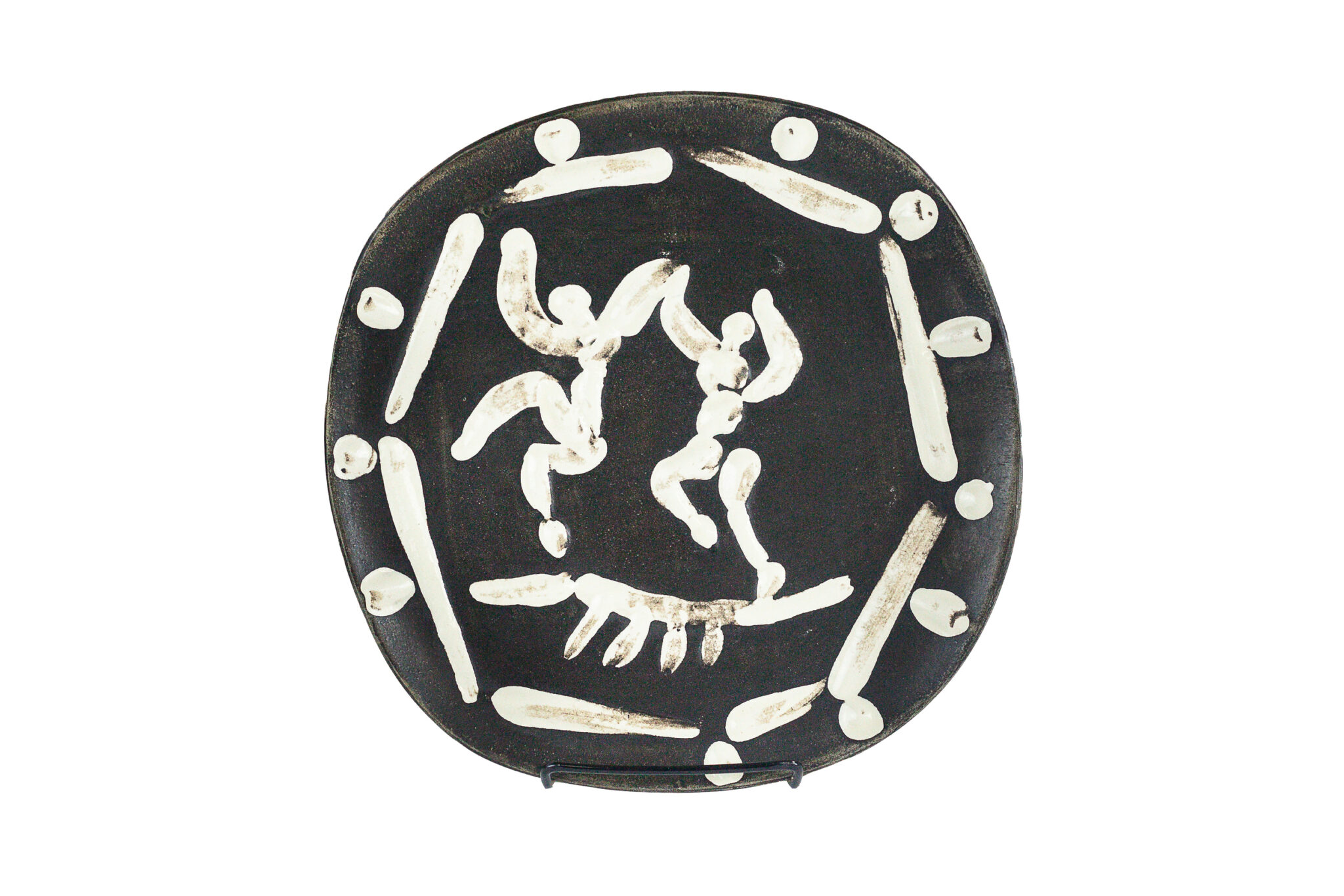 Picasso Madoura Plate of Two Dancers | Sold for $4,375