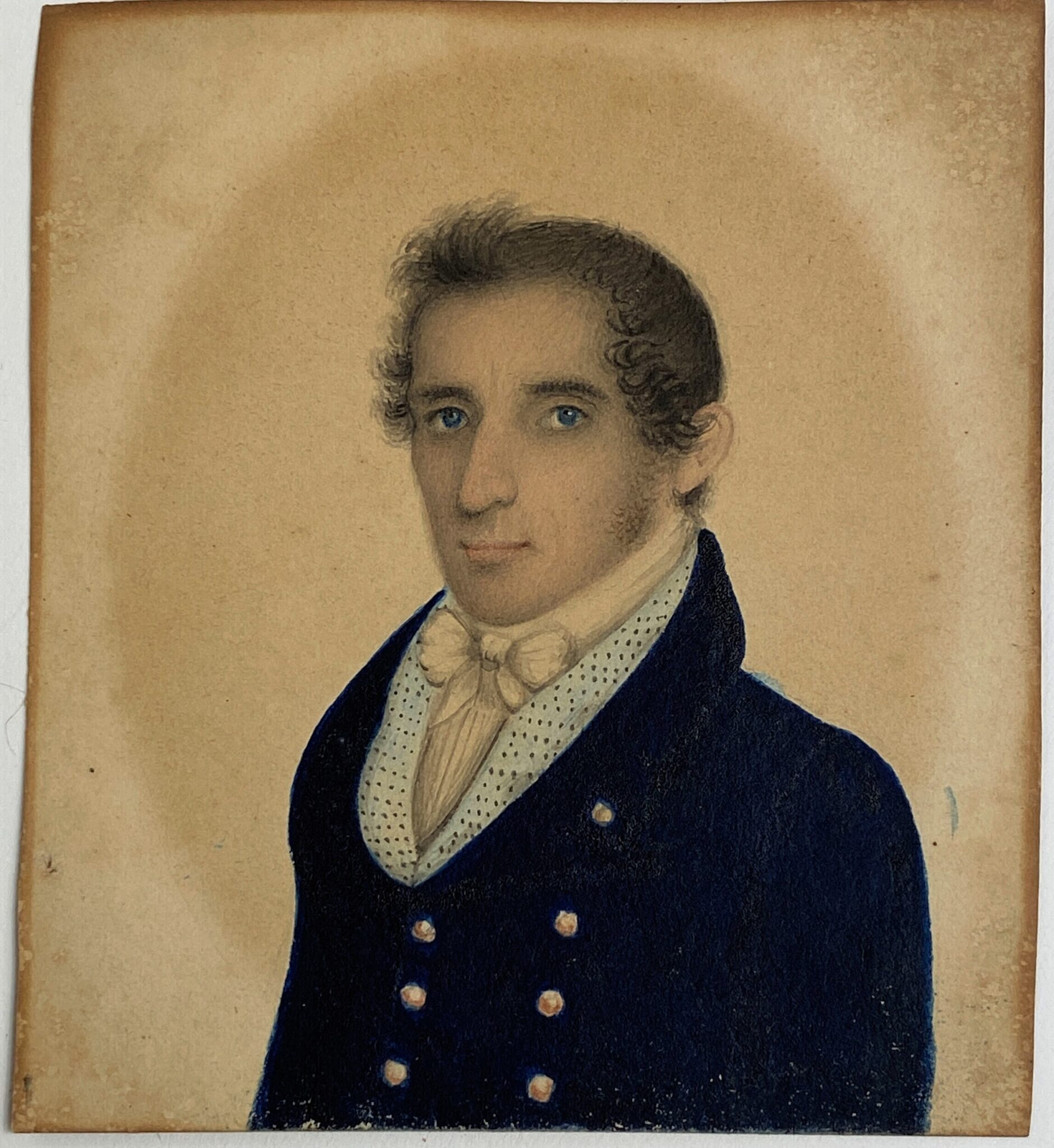 Early 19th Century Miniature Portrait of a Gentleman | Sold for $2,280