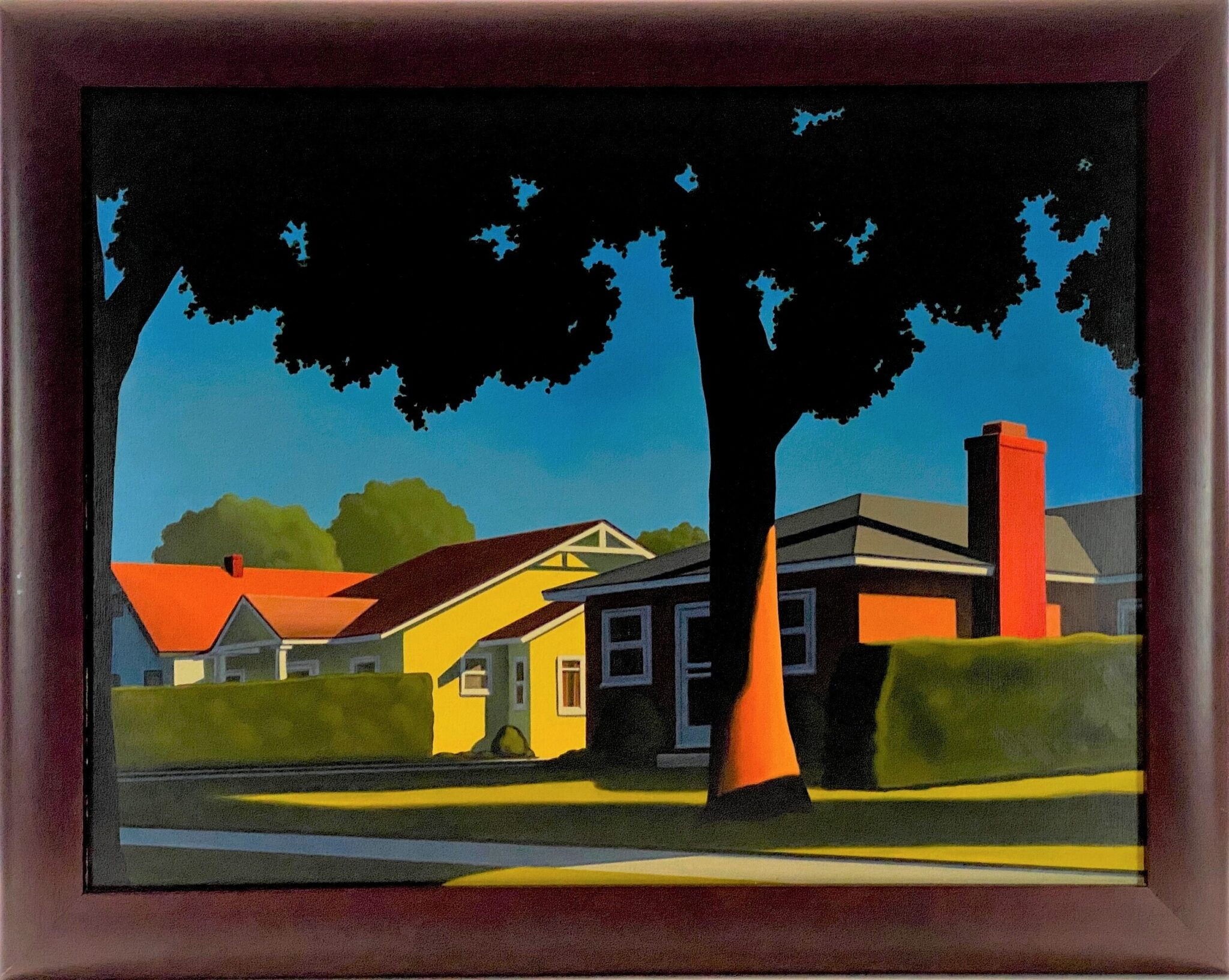 """AN AVERAGE VIEW"" BY KENTON NELSON 