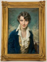 PORTRAIT OF MABEL WOOD POGUE | Sold for $4,350
